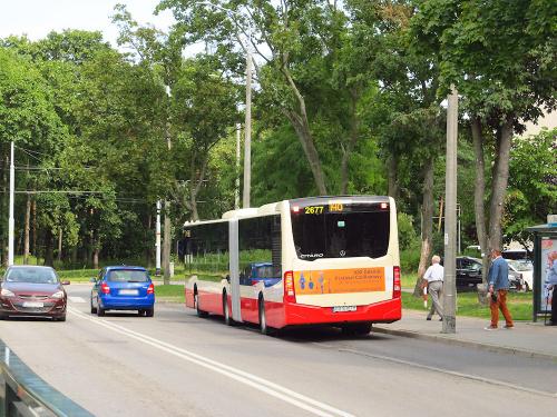 Mercedes-Benz O530G C2, #2677, GAiT Gdańsk
