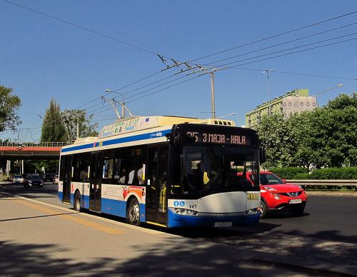 Solaris Trollino 12T, #3001, PKT Gdynia