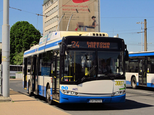 Solaris Trollino 12M, #3007, PKT Gdynia
