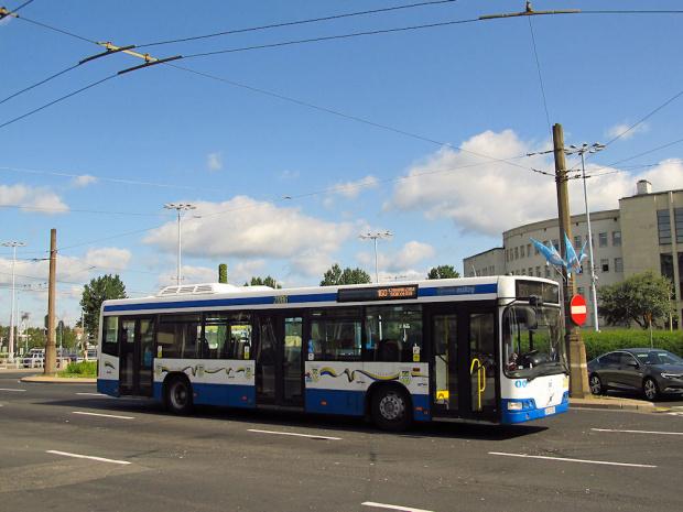 Volvo 7000, #2086, PKM Gdynia