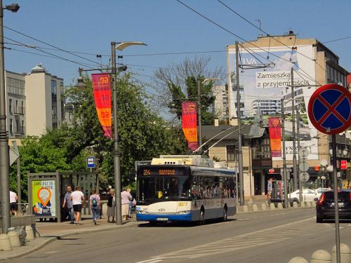 Solaris Trollino 12M, #3077, PKT Gdynia