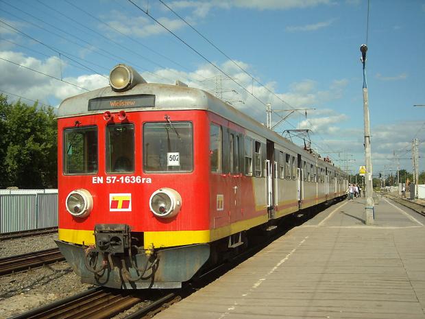 EN57-1636, SKM Warszawa