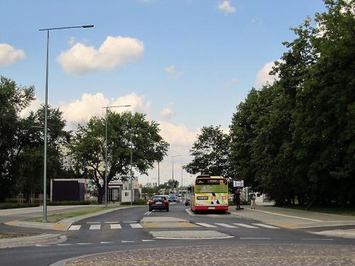 Warszawa - Targówek, ul. Pratulińska... po nowemu