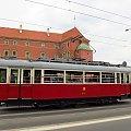 """Wagon typu K """"Berlinka"""", #445, Tramwaje Warszawskie"""