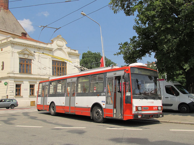Janusz Jakubowski Škoda 14Tr17/6M, #3275, DP Brno