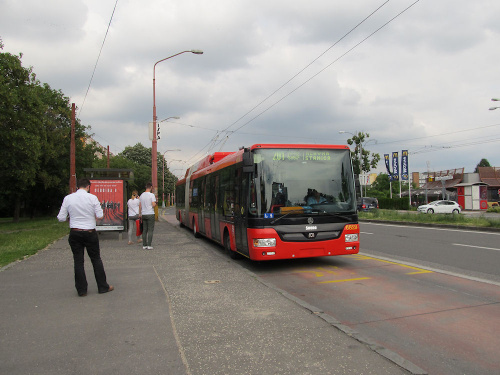 Škoda 31Tr SOR, #6829, DP Bratislava