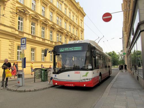 Škoda 26Tr Solaris, #3303, DP Brno