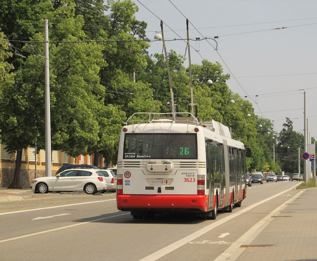 Škoda 31Tr SOR, #3623, DP Brno