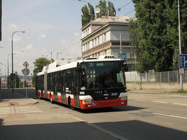 Škoda 31Tr SOR, #3621, DP Brno