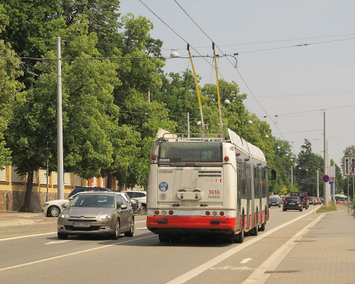 Janusz Jakubowski Škoda 25Tr Irisbus, #3616, DP Brno