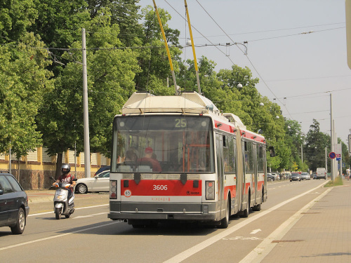 Škoda 22Tr, #3606, DP Brno