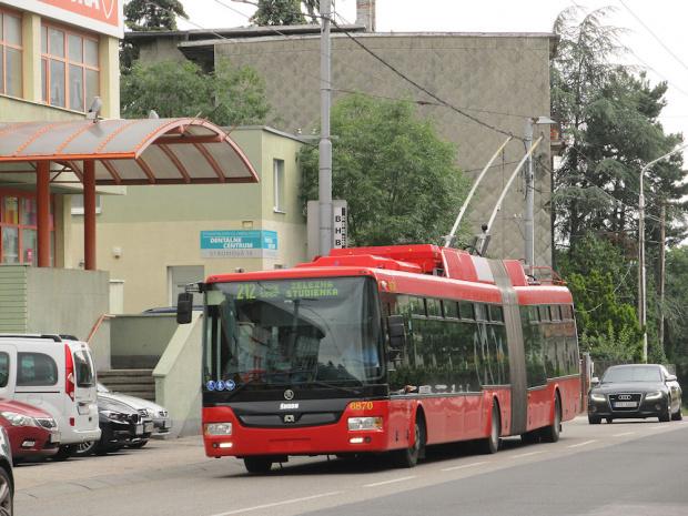Škoda 31Tr SOR, #6870, DP Bratislava