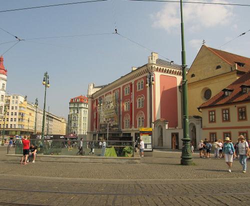 Praha. Náměstí Republiky