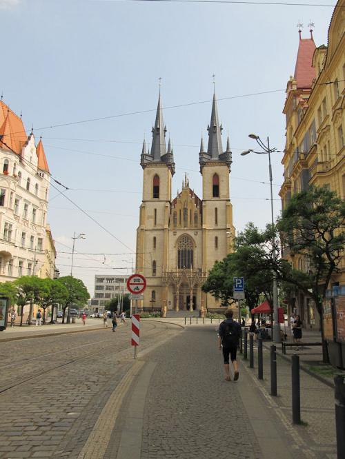 Praha. Kostel sv. Antonína Paduánského