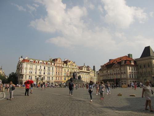 Praha. Staroměstské náměstí. Schierův dům