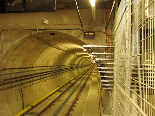 Tunel metra - nowy odcinek linii M2