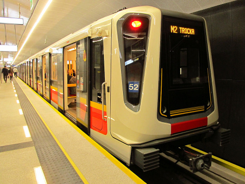 Siemens Inspiro, Metro Warszawskie