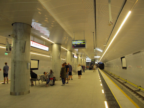 """Stacja metra (C17) """"Targówek Mieszkaniowy"""""""
