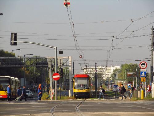 """Pesa 120Na """"Swing"""", #3207, Tramwaje Warszawskie"""