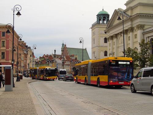 SU18 IV CNG, #9919, Arriva Bus Transport Warszawa