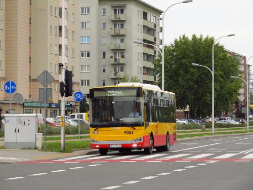 Otokar Vectio C, #9083, Arriva Bus Transport Warszawa