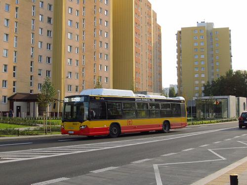 """Scania Citywide LF CNG, #9695, """"Michalczewski"""" sp. o.o / Oddz. Warszawa"""