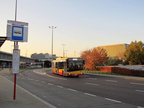 SU18 IV CNG , #9914, Arriva Bus Transport Warszawa