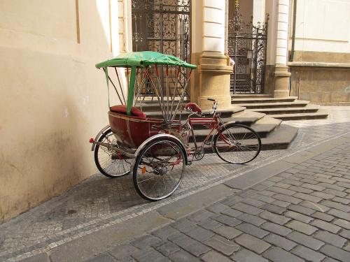 Riksza - w Pradze czeskiej