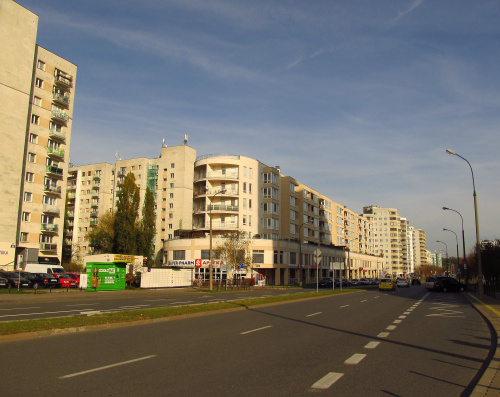 Warszawa - Natolin, ul. Belgradzka