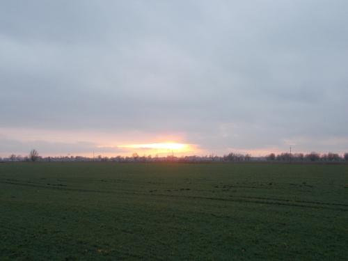 Krótki dzień to i zachód słońca ekspresowy