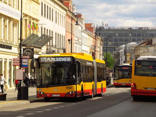 SU18 IV CNG , #9927, Arriva Bus Transport Warszawa