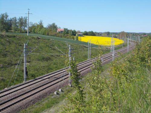 Jeszcze lepsze miejsce na zdjęcia pociągów