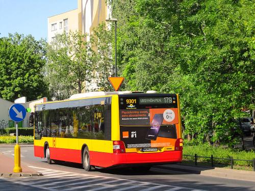 MAN NL293 Lion's City, #9301, PKS Grodzisk Mazowiecki