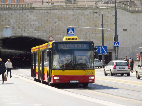 MAN NG313, #3360, MZA Warszawa