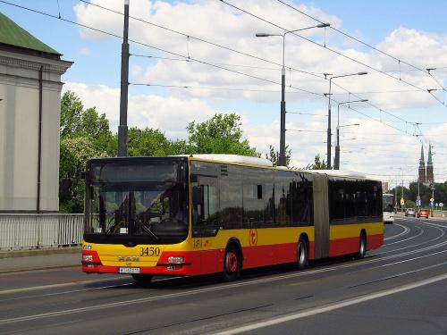 MAN NG363 Lion's City G, #3450, MZA Warszawa