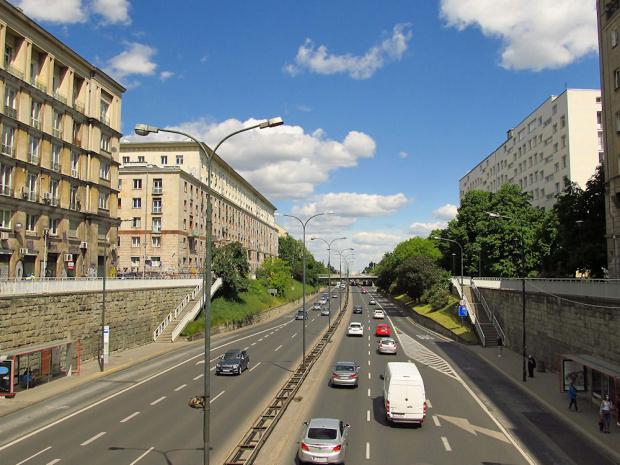 Warszawa - Śródmieście, Al. Armii Ludowej