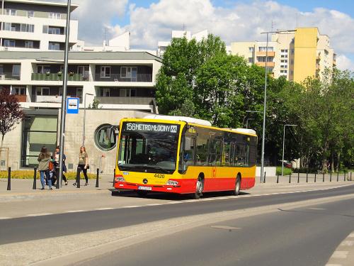 Mercedes Conecto LF, #4420, MZA Warszawa