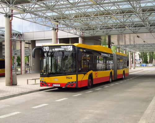 SU18 IV CNG , #9924, Arriva Bus Transport Warszawa
