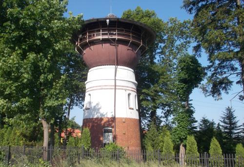 Dąbrówno-wieża wodna