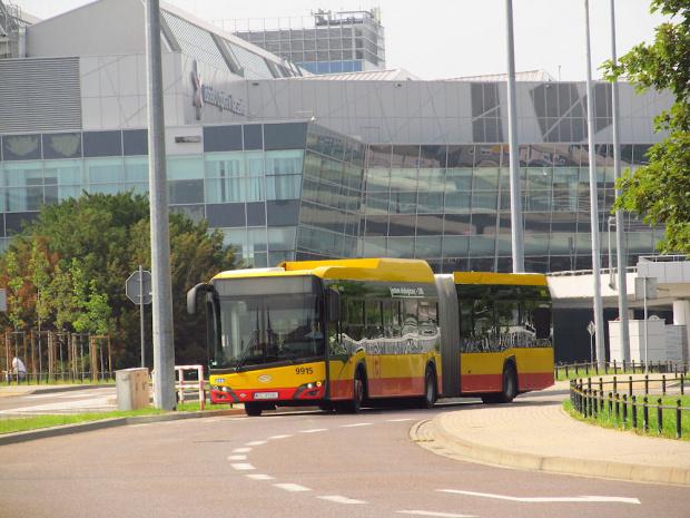 SU18 IV CNG , #9915, Arriva Bus Transport Warszawa