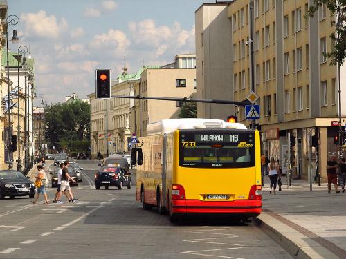 MAN NG313 CNG Lion's City G, #7233, MZA Warszawa
