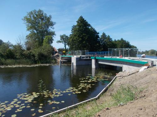 Most na Tudze między Tujskiem a Stobcem coraz bliżej finiszu