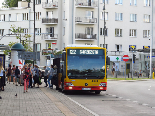 MB Conecto LF, #4403, MZA Warszawa