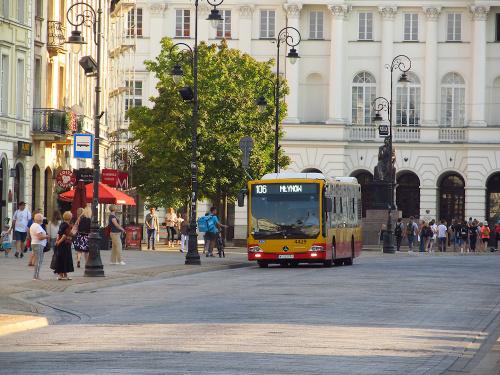 Mercedes Conecto LF, #4429, MZA Warszawa
