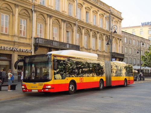 MAN NG313 CNG Lion's City G, #7221, MZA Warszawa