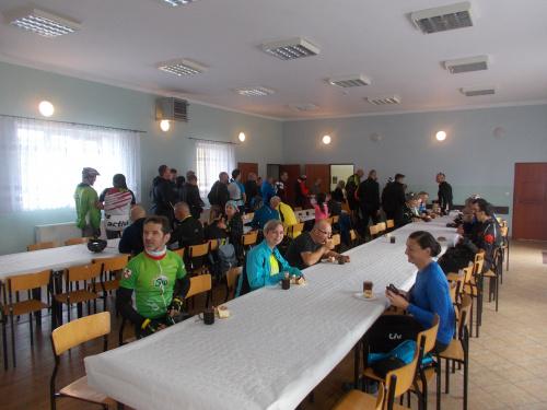 Gościmy się w remizie OSP w Jelonkach