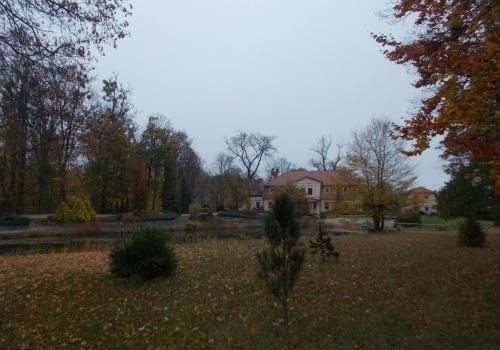 Bruk-dwór z parkiem z XIX wieku