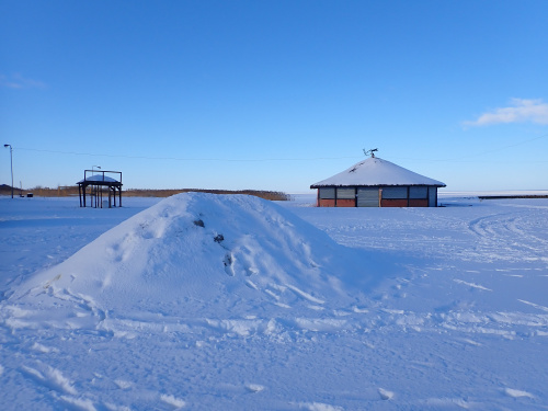 Plaża Srebrna Riwiera w Kadynach