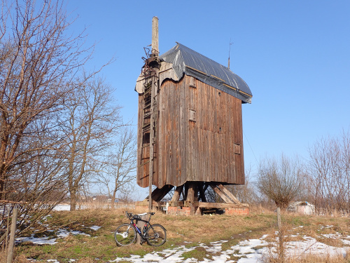 """Drewnica-wiatrak ,,koźlak"""" z 1718 roku!"""