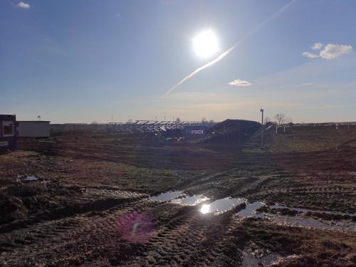 Powstaje farma słoneczna pod Marianką